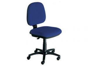 Bürodrehstuhl-Blau