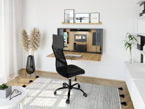 Wandschreibtisch Home Office